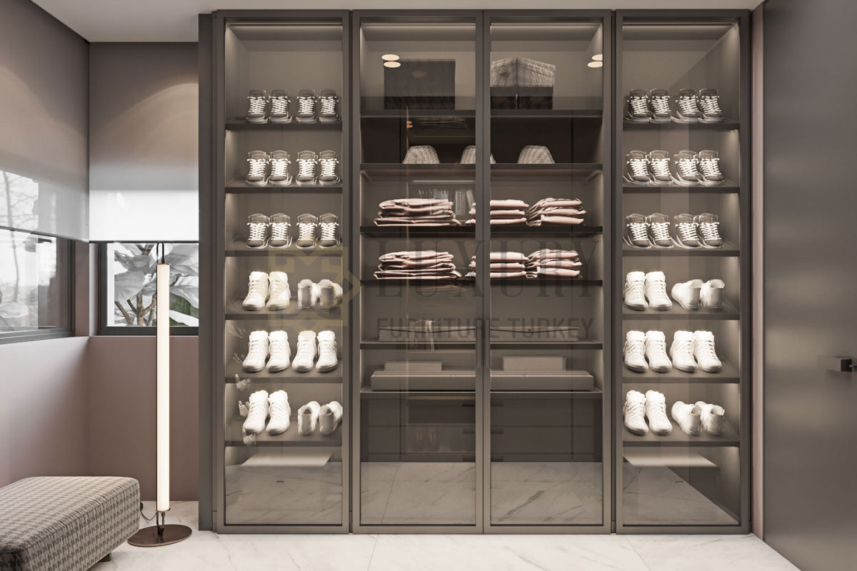 Luxury Furniture İstanbul Soyunma Odası Mobilyası