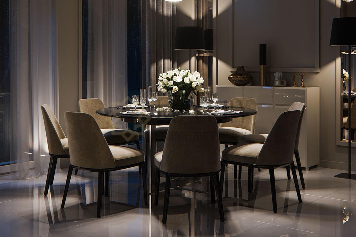 Luxury Furniture İstanbul Yemek Masası Sandalye