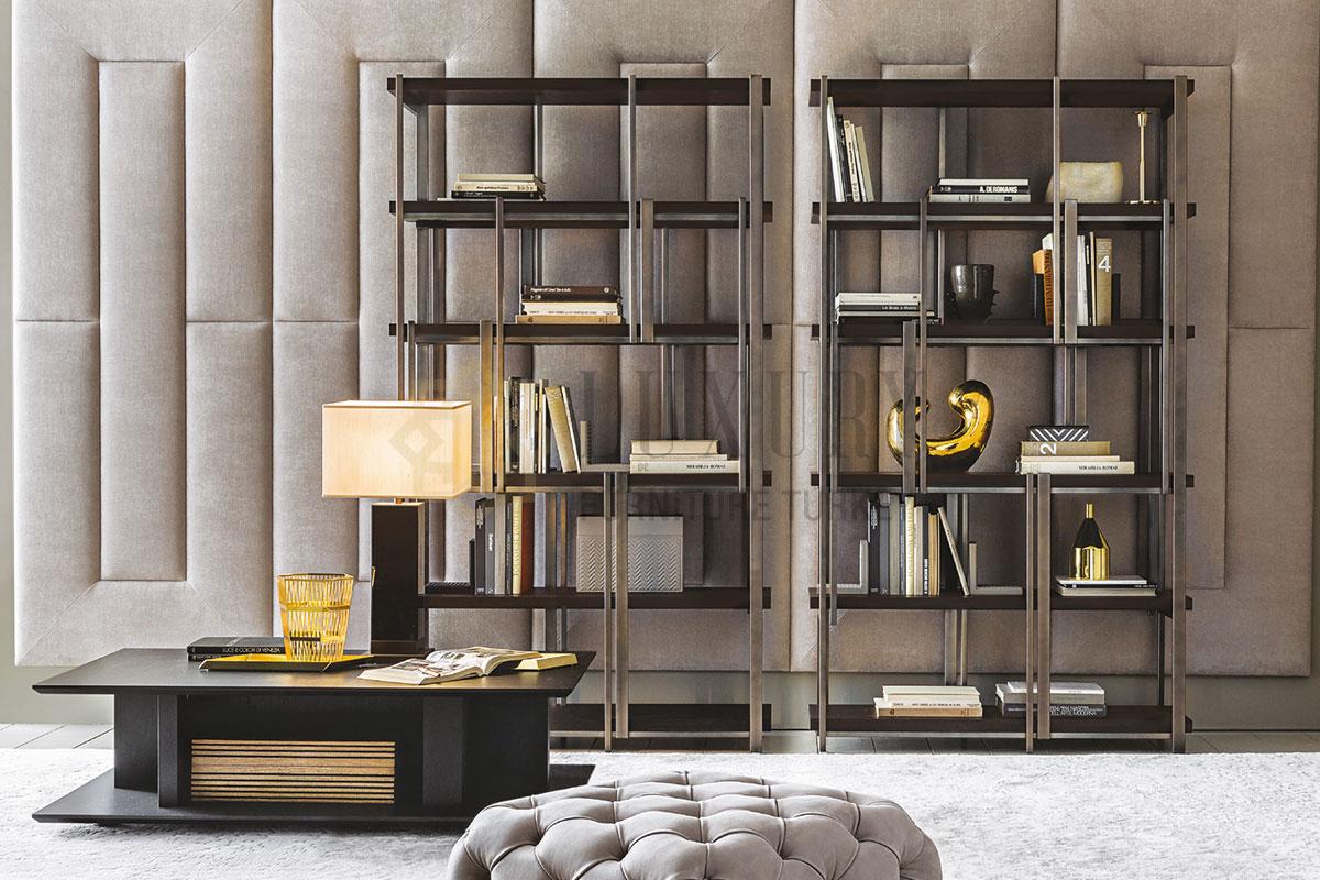En iyi 10 mobilya Markası Metal Kitaplık Dekorasyonu